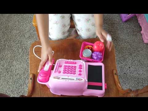 Disney Princess Cash Register Toy, Frozen Elsa Royal play toy