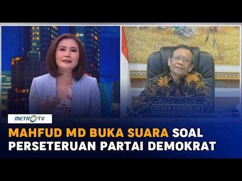 Mahfud MD: Democratic Party Home Affairs Outbreak – metrotvnews