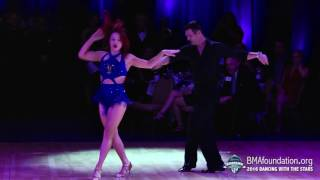 tony dovolani sharna burgess dance 2 2016 bma foundation dancing with the stars