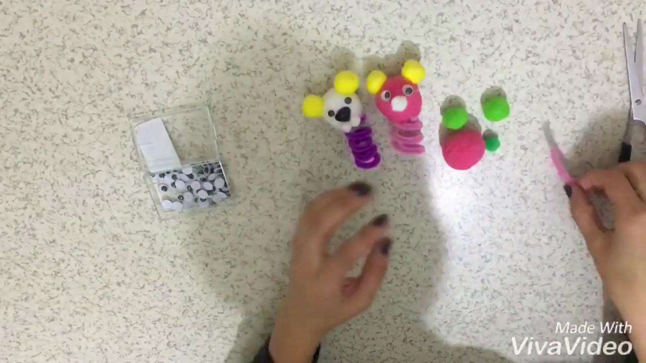 Parmak Kuklası Yapımı Magnet