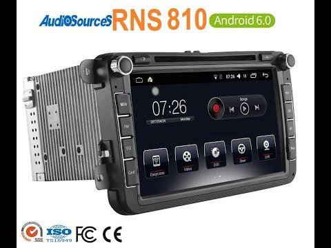 Обзор штатной магнитолы RNS 810 на Android (обзор от клиента)