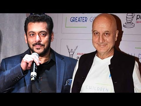 Salman Khan Wishes Luck To Anupam Kher For Ranchi Diaries