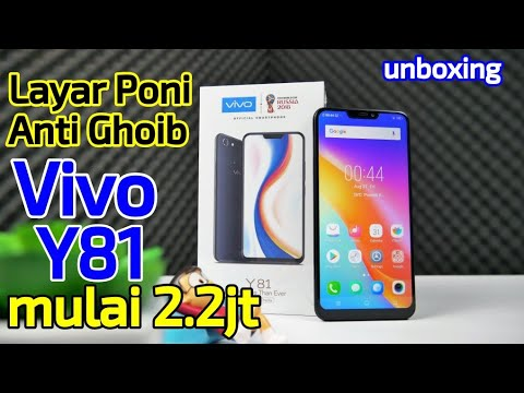 Vivo Y81 - Layar Notch Termurah dari Vivo Indonesia