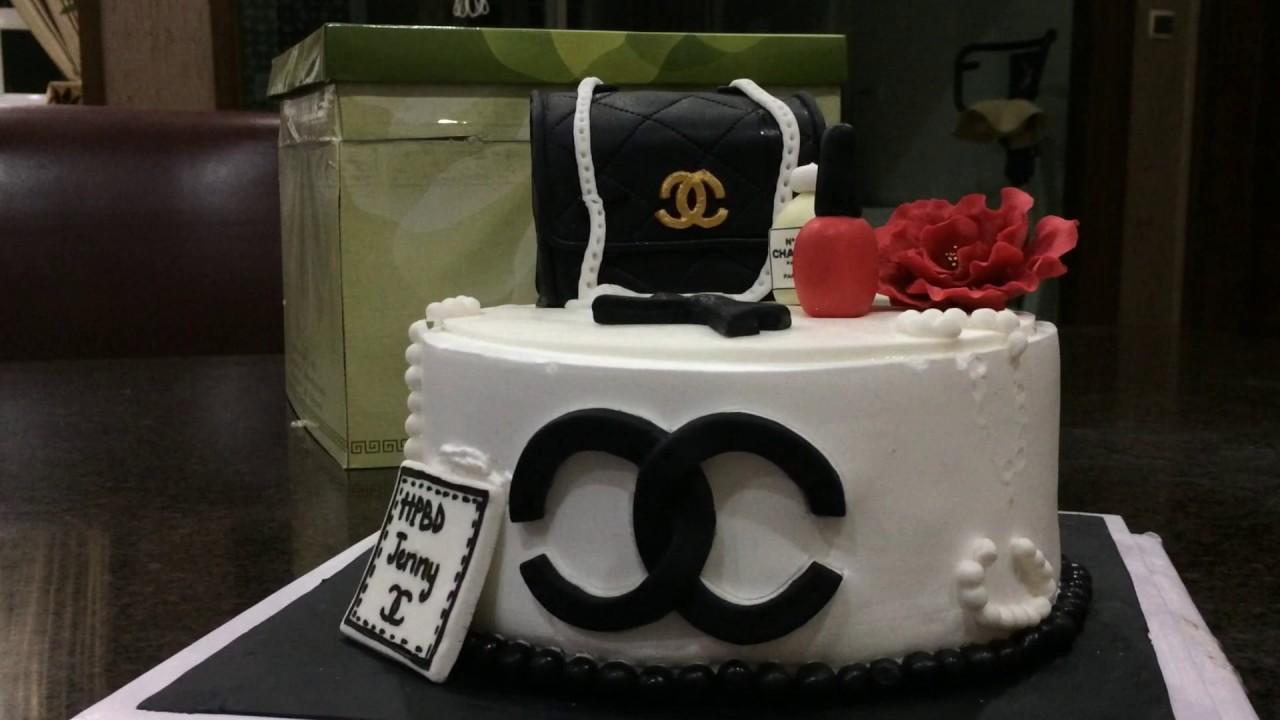 Happy Birthday Chanel Cake