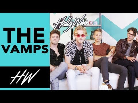 THE VAMPS Describe their TYPE !! | Hollywire