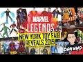 Marvel Legends New York Toy Fair Reveals 2019