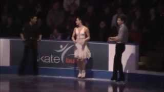 Tessa Virtue Scott Moir Exhibition Gangnam Style