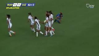 Lobos BUAP vs Cruz Azul 1-1, J-2, Clausura 2019, Liga MX Femenil, goles