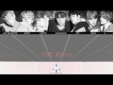 BTS (방탄소년단) - MIC Drop (Steve Aoki Remix) MV + Lyrics Color Coded HanRomEng indir