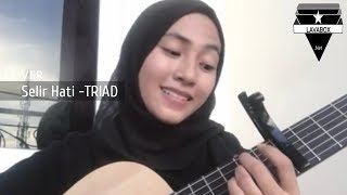 Selir Hati- TRIAD cover by Feby putri suaranya lembut banget Mp3