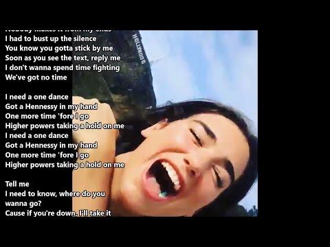 DUA LIPA covers Drake´s 'One Dance' - Live audio with lyrics
