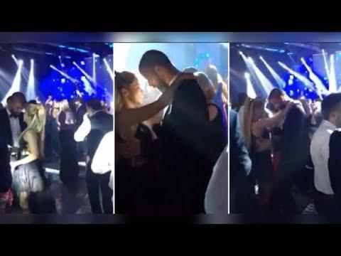 Shakira y Piqué bailan a ritmo de cumbia en la boda de Messi