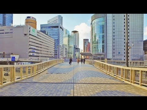 Walking around Umeda, Osaka - Long Take【大阪・梅田】 4K