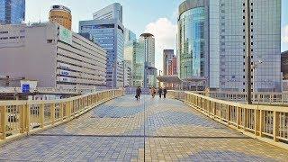 建設ラッシュ?再開発中の大阪梅田駅周辺の様子 - 4K UHD