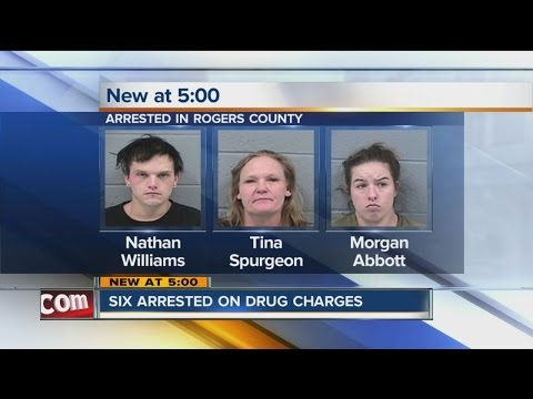 Six Arrested In Rogers County On Drug Charges