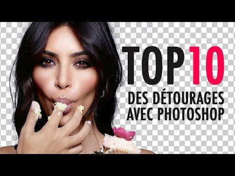 TOP 10 DES DÉTOURAGES - TUTO PHOTOSHOP