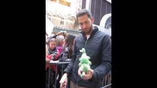 Zachary Levi being adorable. What else is new?
