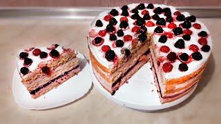 Йогуртный Торт - РЕЦЕПТ  |  Рецепт Торта, Домашние Рецепты