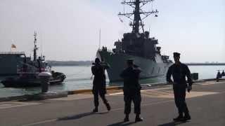 USS Donald Cook Departs (DDG 75) NAVSTA Rota
