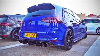 400+HP VW Golf R (mk7) Stage2 w/ loud custom exhaust