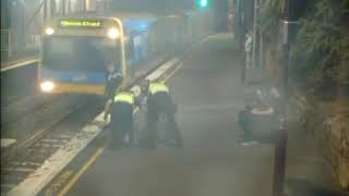 Woman Rescued From Path of Oncoming Train in Melbourne