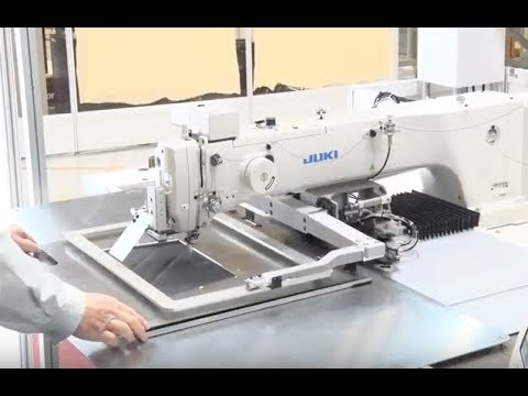 JUKI AMS40EN40 PROGRAMMABLE SEWING MACHINE YouTube Magnificent Juki Ams224e Programmable Sewing Machine