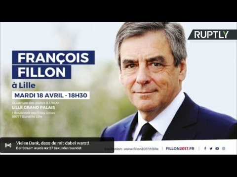 François Fillon réunit ses partisans à Lille (Direct du 18.04)