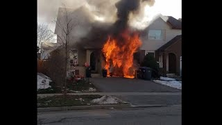 No injuries after house fire in Brampton
