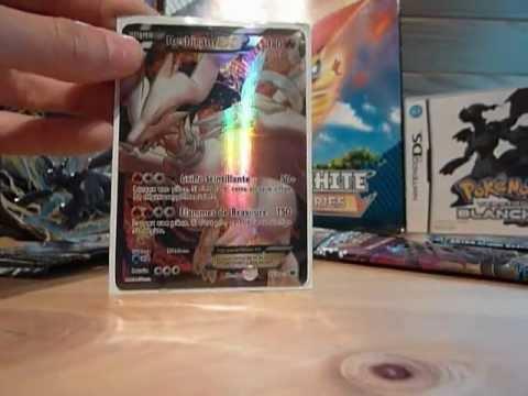 Voici mais carte pokemon legendaires noir et blanc youtube - Pokemon legendaire blanc 2 ...