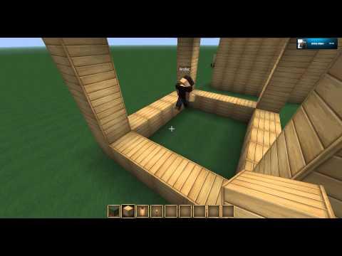 Minecraft Ev Yapımı ilk Günler
