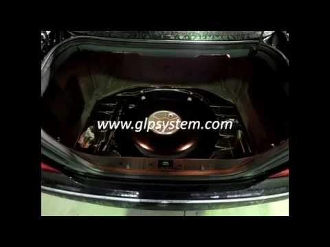 Transformación Mercedes Benz CL500 a Autogas GLP www.glpsystem.com