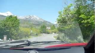 Driving a Lamborghini Countach in Alpine, Utah