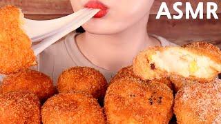 ASMR*CRUNCHY* ASSORTED CROQUETTES eating sounds MUKBANG여러가지 고로케 먹방【咀嚼音】いろいろコロッケを食べる