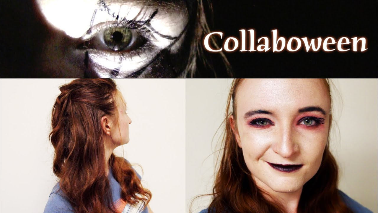 Halloween Beauty: Vampire / Witch Hair and Makeup - YouTube