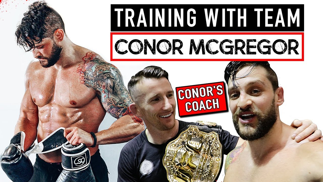 My TEAM McGREGOR Workout & Gymshark Dublin Experience | TRAVEL DIET & TRAINING TIPS