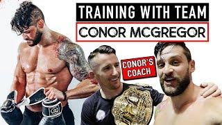 My TEAM McGREGOR Workout & Gymshark Dublin Experience | TRAVEL DIET & TRAINING TIPS | Lex Fitness