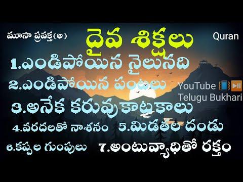 ఏడు దైవశిక్షలు #TeluguBukhari from YouTube · Duration:  20 minutes 54 seconds