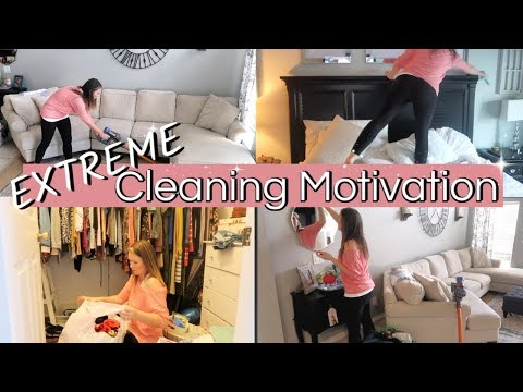 CLEAN WITH ME 2019 | EXTREME SPEED CLEANING MOTIVATION