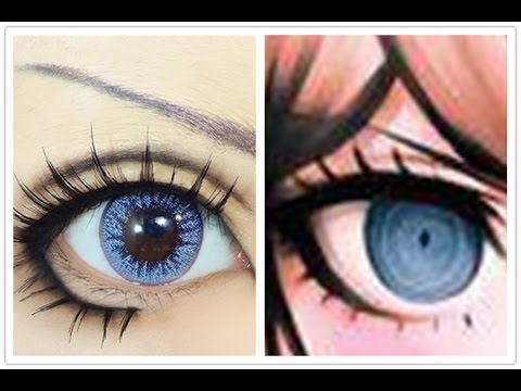 Enoshima Junko Tutorial Anime Eye Makeup 81 Youtube