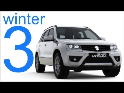 Suzuki Grand Vitara 4x4 Winter Offroad Part 3
