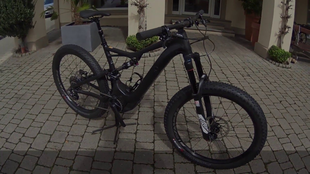 specialized turbo levo fsr comp black 2016 first look. Black Bedroom Furniture Sets. Home Design Ideas