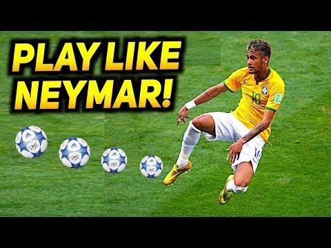 How To Play Like NEYMAR - Football Skill Tutorial 2017! ★