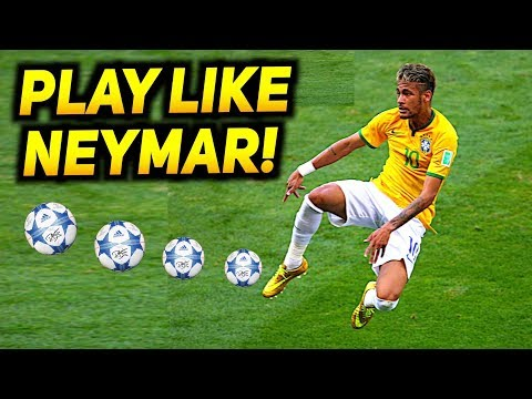 How To Play Like NEYMAR  Football Skill Tutorial 2017! ★