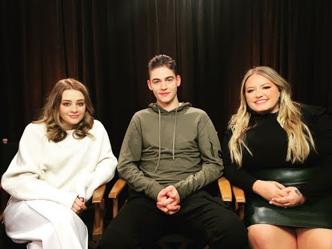 Josephine Langford, Hero Fiennes Tiffin and Anna Todd on amazing success of After!