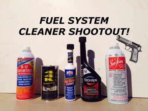 Do Fuel System Cleaners Actually Really Work? BG 44K vs Lucas vs Berrymans B-12 vs Seafoam Techron