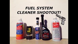 Do Fuel System Cleaners Actually Really Work? BG 44K vs Lucas vs Berrymans B12 vs Seafoam Techron