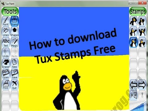 How To Download Stamps In Tux Paint Free
