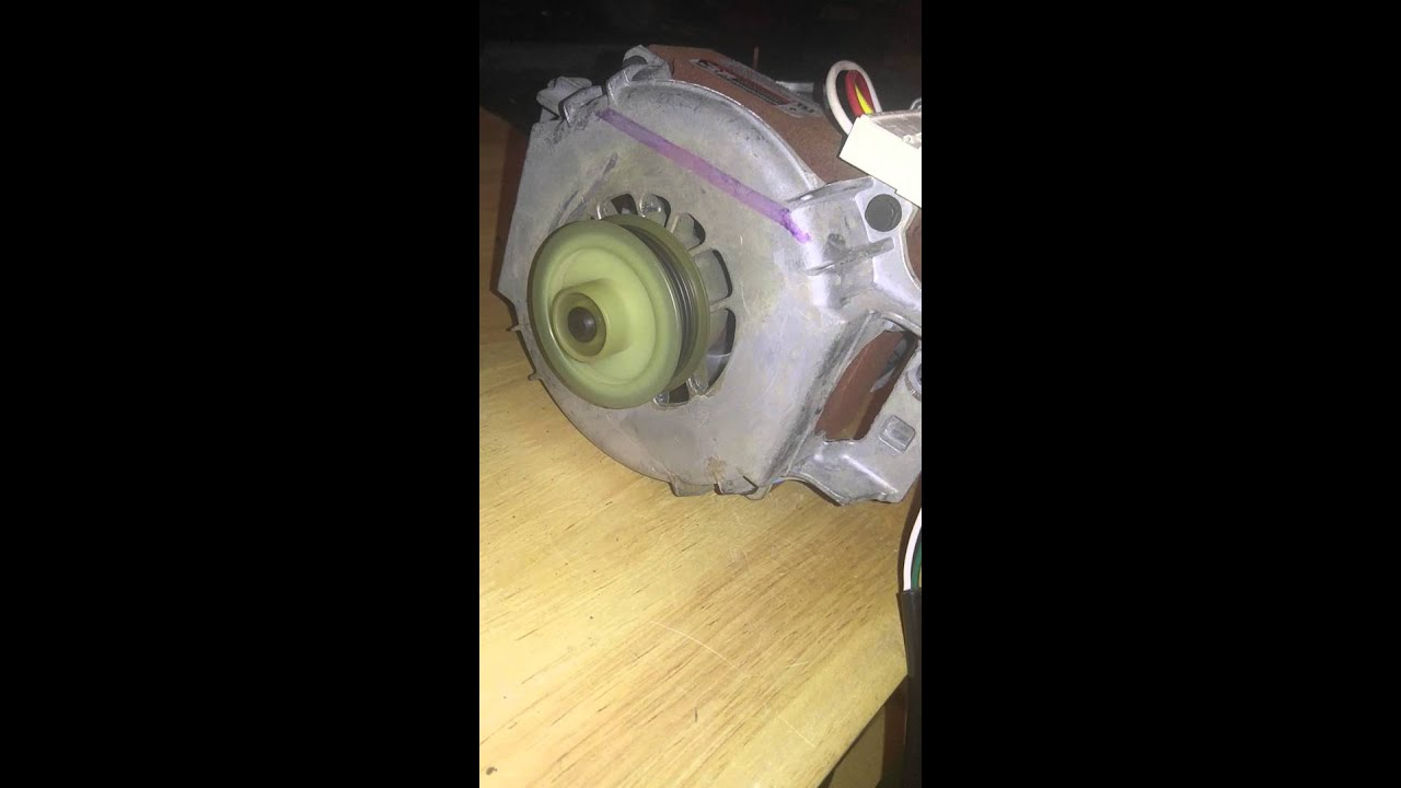 How To Test A 3 Wire Washing Machine Motor Youtube Wiring Diagram View