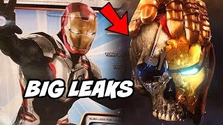 Iron man New Armour and Cap Suit Leaked from Avengers Endgame Hindi Avengers Infinity War