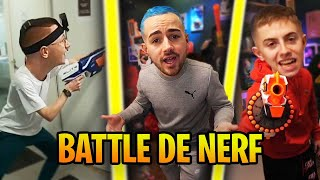 BATTLE ROYALE DE NERF A WEBEDIA ! (on a trop rigolé)